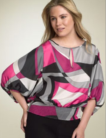MICHAEL Michael Kors Kimono Sleeve Silk Blouse - Nordstrom $64.90 on sale