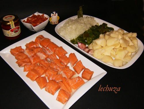 Marmitako de salmón-ingrs.