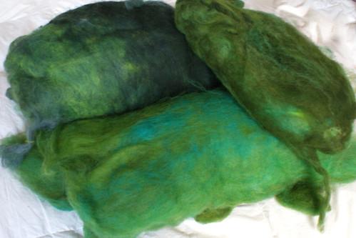 Rhinebeck Fiber: Spinners Hill wool batt