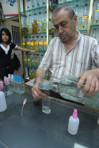 Tunisian Perfume shop