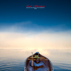.............. l'Aventure! (Imapix) Tags: morning mist lake canada art nature canon photography photo foto photographie quebec paddle lac tranquility canoe qubec brouillard canot brume imapix cano aviron quietude gaetanbourque cedarcanoe 100commentgroup vosplusbellesphotos imapixphotography gatanbourquephotography