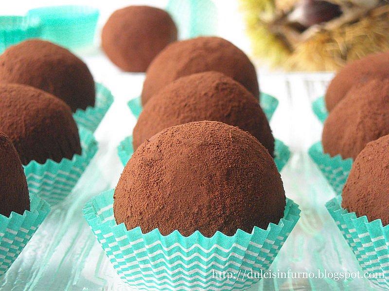 Tartufi di Castagne-Chestnut Truffles
