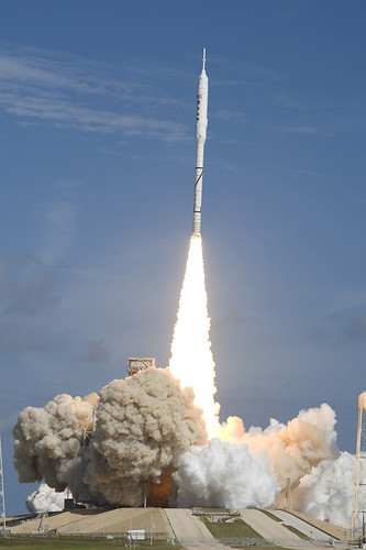 Ares I-X Rocket: A Beautiful Launch (NASA, 10/28/09) by nasa1fan/MSFC.