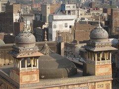Gumbad (@mmar) Tags: pakistan red work tile arch minaret mosque khan punjab lahore minar masjid wazir stome gumbad lahoretrip