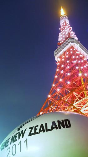 東京タワー×ラグビー