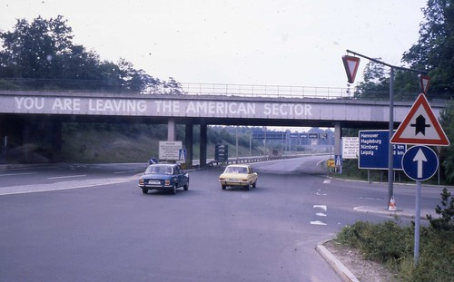 East Berlin 1980 - You Are Leaving the American Sector