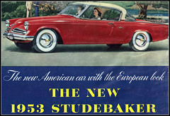 1953 Studebaker Starliner 2 door hardtop (coconv) Tags: auto door old 2 two classic cars hardtop car truck vintage magazine cards flyer automobile post antique postcard ad advertisement vehicles card postcards vehicle trucks studebaker autos collectible collectors brochure coupe v8 automobiles starliner prestige 531953
