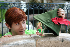 Hiding (briberry) Tags: bell disneyland tinkerbell disney peter pan neverland tinker