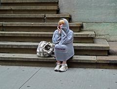 When Love Breaks Down (an untrained eye) Tags: portrait woman newyork colour topv111 sad unitedstates manhattan candid crying streetphotography wallstreet anuntrainedeye