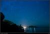 la ciudad y las estrellas (soybuscador) Tags: sea sky españa stars noche mar spain ibiza cielo reflejo astrofotografía estrellas nocturna polar 2009 baleares torreón calasanvicente karmapotd karmapotw esfigueral soybuscadorgmailcom