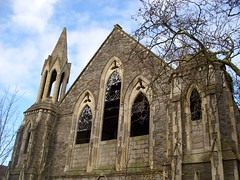 ABANDONED CHURCH (A QUIVERFUL OF FOTOS) Tags: building abandoned church bristol gothic derelict sundayschool kingswood