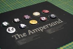 Buttons (scottboms) Tags: raw buttons projects letterpress ampersand lls butterlabel ligatureloopstem