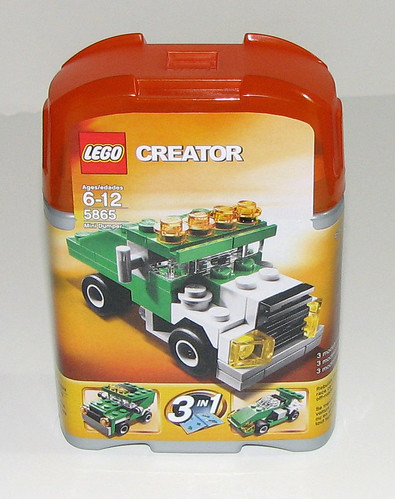 LEGO 2010 Creator 5865 Mini Dumper - Packaging