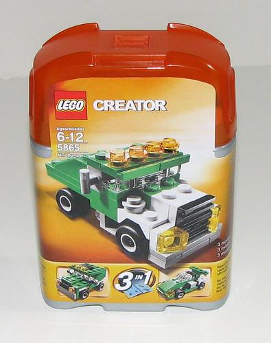 LEGO 2010 Creator 5865 Mini Dumper - Packaging