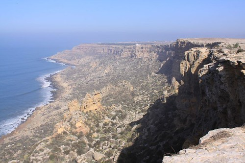 Spectacular coastline north of Safi...