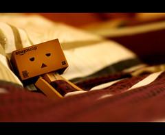 Sleepy (Sabotae) Tags: canon toy interestingness flickr hangover sleepy cinematic xsi danbo revoltech 450d danboard