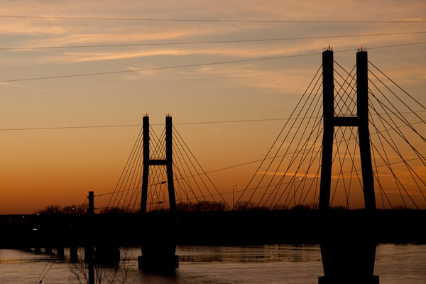 Spanning the Mississippi River