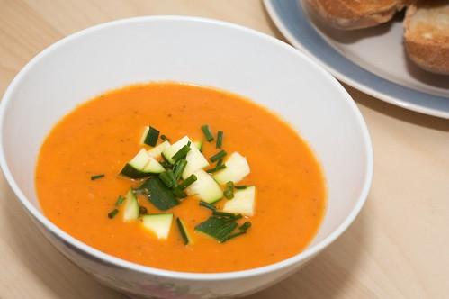capsicum soup