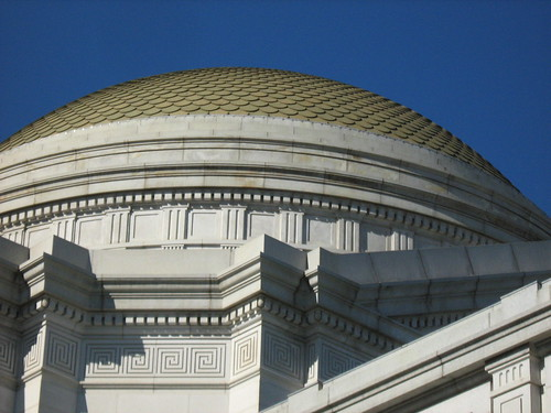 Finally, a good photo!  The Natural History dome.