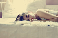 [Explore] (laura zalenga) Tags: light sun white cute girl face hair bed soft quiet hand sleep peaceful calm natherlands laurazalenga