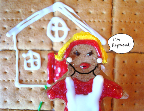 Gingerbread Mad Men - Betty Draper