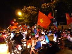 Mad traffic in HCMC / Saigon