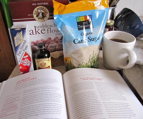 almond pound cake: get started!