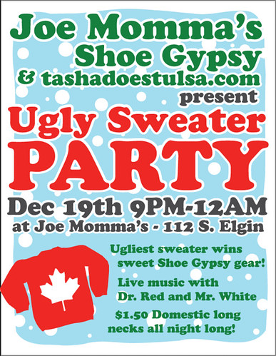Ugly Sweater Party @ Joe Momma's