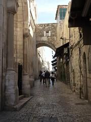 Ecce Homo Arch on Via Dolorosa