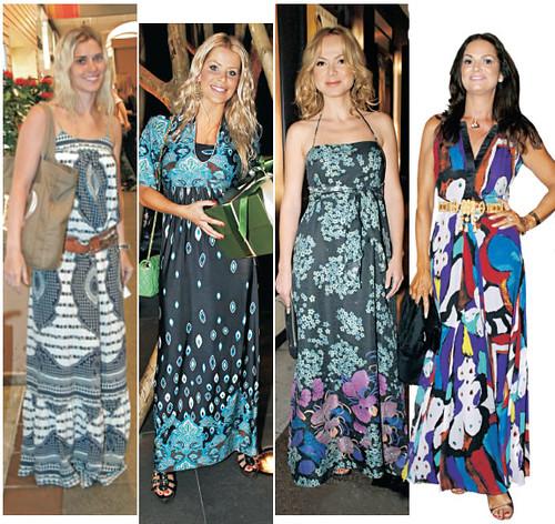 vestidos longos fotos
