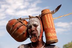 Omo Valley - Mursi woman (CortoMaltese_1999) Tags: africa woman culture valley afrika omovalley tradition ethiopia tribe ethnic mursi ethnology omo eastafrica thiopien etiopia ostafrika etiopa ethnie ethiopi  thiopie etipia