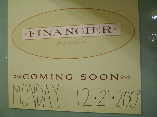 Financier GCT on Monday!