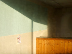 (Delay Tactics) Tags: road shadow wall closed counter d no empty sheffield smoking deli hopper shut woodseats haphazartbeyond