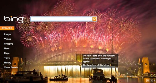 Bing New Years Logo