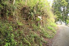 御前山の登山道の入口