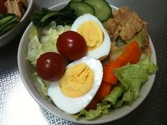 朝食サラダ(2011/5/16)