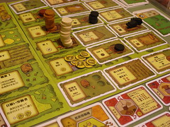 アグリコラのゲームボード
