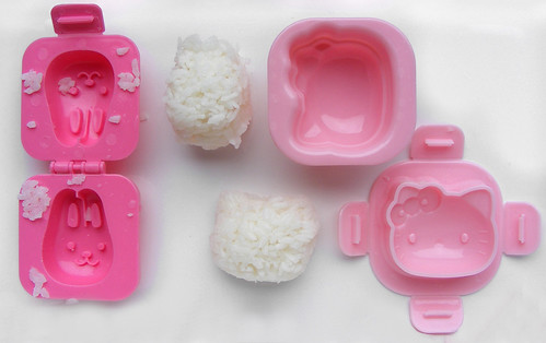 Hello Kitty sushi rice mold