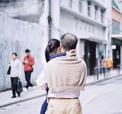 「 Film 」The most beautiful thing. (Skyeluke) Tags: 柯達 佳能 底片 膠片 菲林 人文 澳門 film proimage100 kodak eos55 canon girl people streetphotography street macau