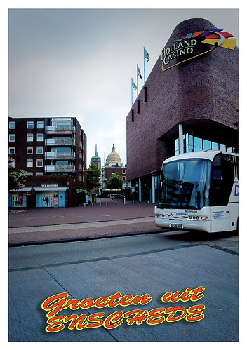 Ansicht kaart Holland Casino Enschede II (voorkant)
