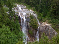 Waterfall from Denny Creek trail