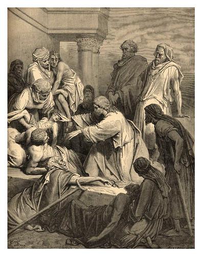 014-Jesus curando a los enfermos-Gustave Doré