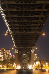 Under the Sydney Harbour Bridge (pablo808) Tags: bridge night canon long exposure sydney australia efs1785mmf456isusm underbelly sydneyharbourbridge 50d