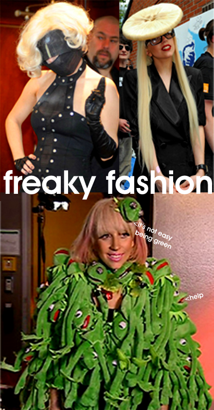 Lady Gaga Kermit Coat. Be uber pissed lol gaga lady