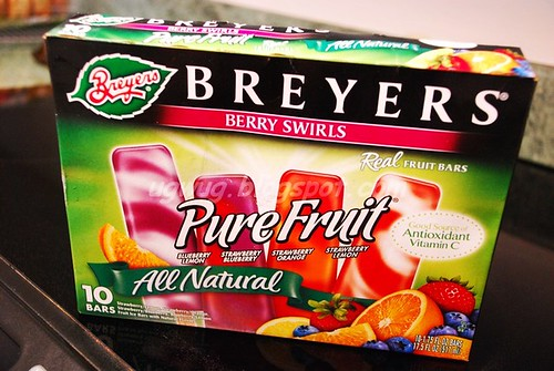 Breyers' Pure Fruit Bars