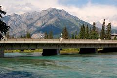 Bridge of the Bow River, Banff (Chris Haley) Tags: banff bowriver norquay canadianrockies