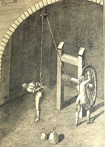 A torture device from medieval times- Methods have changed since then.