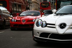 Howly mowly! (Tom Daem) Tags: slr mclaren mercedesbenz edition londen roadster arabs 2x 722s