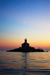 Svjetionik Mulo #2 (iz_01) Tags: sunset lighthouse pentax croatia naplemente mulo adria jadran horvtorszg k100d svjetionik vilgttorony