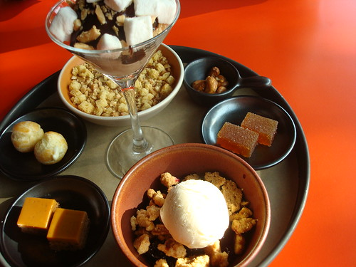 Dessert Thali at Poppy, Seattle